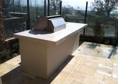 Patio BBQ Design by Aquanetic Pools