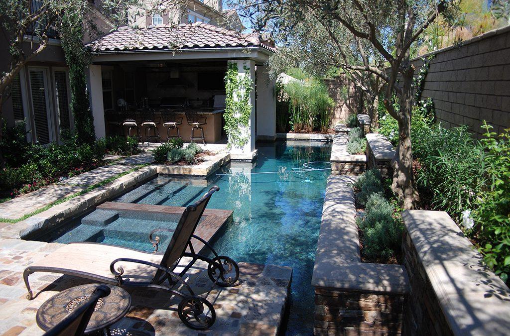 Pebble Tec Pool in Irvine