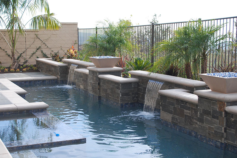 Aquanetic Pools Water Features