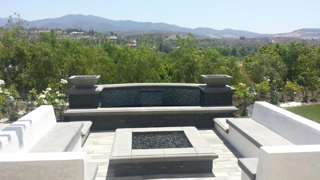 Aquanetics  Outdoor Living Fire and Water Feature