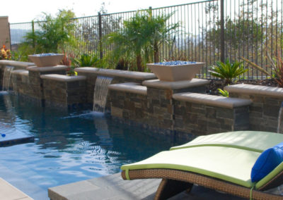 New Construction After with Pool & Spa