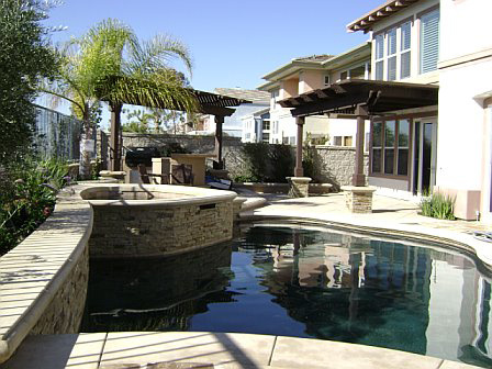 PebbleSheen Pool and Spa in Mission Viejo