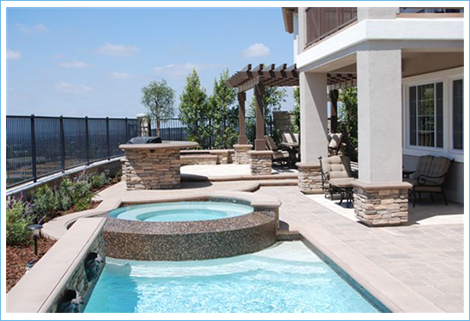 Small Pools Aquanetic Custom Pools And Spas In Orange
