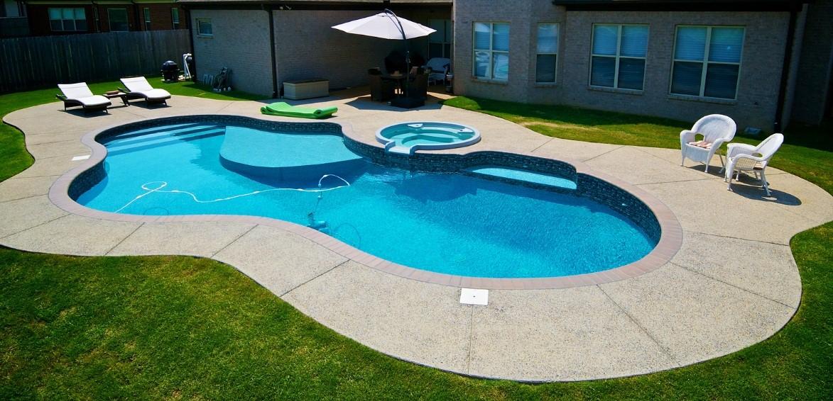 pool contractors create masterpiece