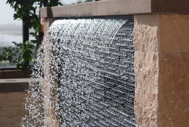 Aquanetic Pools Custom Water Feature