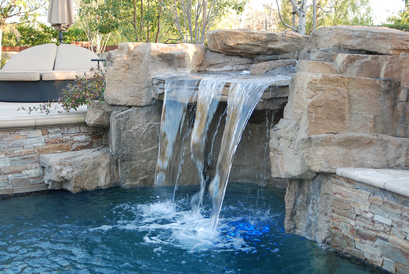 Aquanetic Pools Water Feature