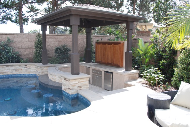 Aquanetics Swimming Pool BBQ Area