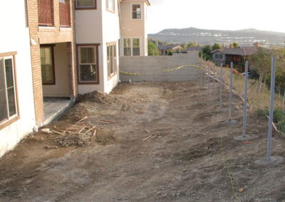 New Construction Before