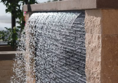 Transitional Rainfall Water Feature